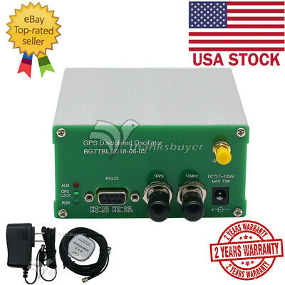 Gpsdo 10m Output Gps Disciplined Oscillator Clock Sinusoidal Wave Rs232 Usa Ship