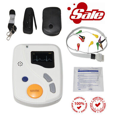 Tlc6000 Dynamic 48hours 12 Lead Ecgekg Holter Monitor Alalyzer Software Contec