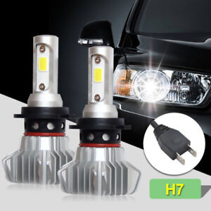 H7 60W Car LED Headlight Bulbs Conversion Kit Low Beam 6500K HID