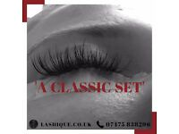 Mobile semi-permanent individual eyelash extensions: CLASSIC AND 3D RUSSIAN VOLUME MINK LASHES.