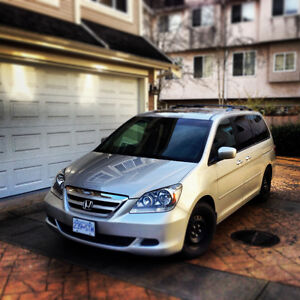 2005 Honda Odyssey EX-L Minivan, Van