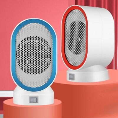 220V 400W Small Electric Heaters Fan Countertop Home Room Po