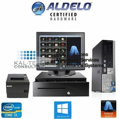 Aldelo Pro Pos Restaurant Bar Complete Pos System 1 Station I34gb 5yr Warranty