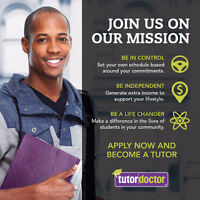 Hiring Tutors Part time