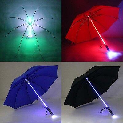 New LED Light Up Blade Runner Star Wars Colorful Umbrella Wi