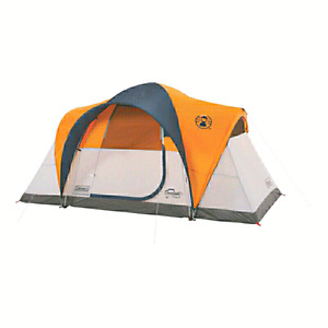 Coleman Mapleton fast pitch 6-person tent  8 minute set-up  Door