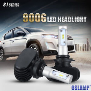 2x 9006 HB4 6500K CREE HID High/Low Beam Headlights Conversion