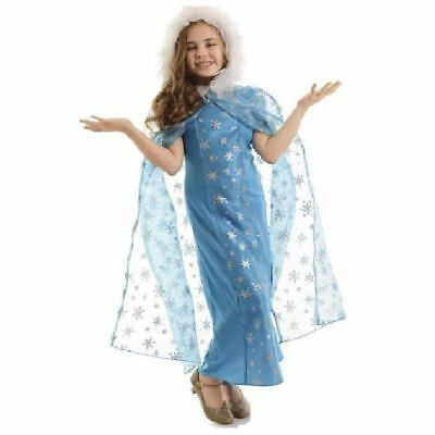 Snow Queen Cape (Snow Queen Cape Child Costume Christmas Winter Else)