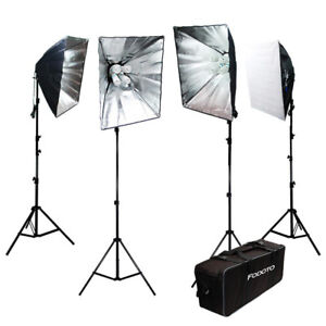 3600w Photo Video Softbox Lighting Kit (Extremely Bright)