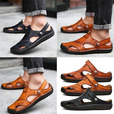 Herrenschuhe Business Schuhe Penny Leder Sommer Sandalen Gr.39 40 41 42 43 44