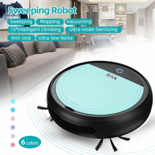 Auto Rechargeable Smart Robot Vacuum Cleaner Floor 3in1 Dry