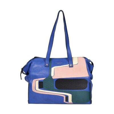 BORSA PIQUADRO SHOPPING BAG MULTICOLOR PORTA iPad®Air/Air2 BD3940W72/BLU2PAT