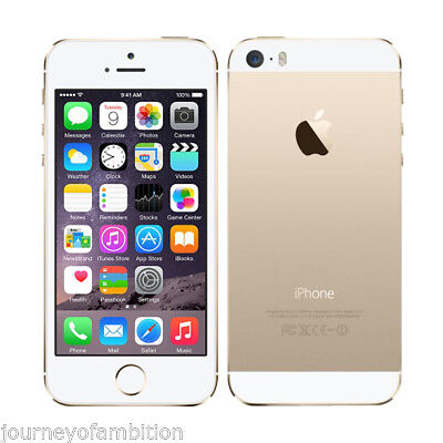 Apple iphone 5s -32GB GSM Factory Unlocked- 4G SIMFREE IOS Smartphone GOLD +WTY