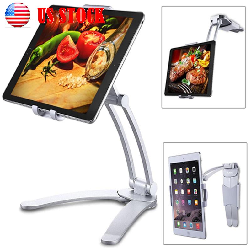 kitchen desktop tablet wall mount stand holder