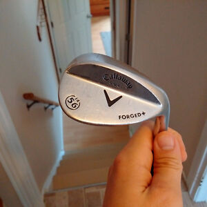 Callaway Forged+ 56* sand wedge