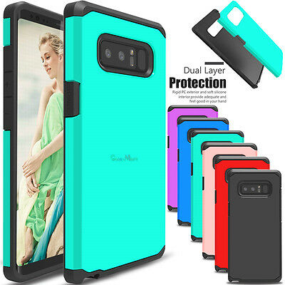 For Samsung Galaxy Note 8 Phone Case Shockproof Armor Hybrid Rubber Hard Cover
