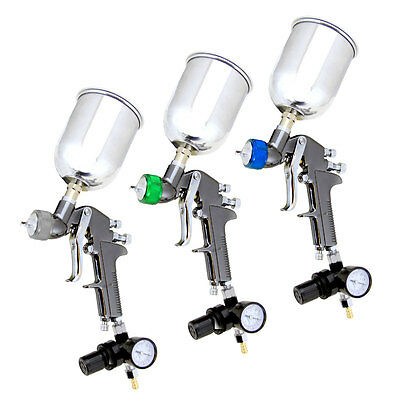 Set 3 HVLP Air Paint Spray Gun ...