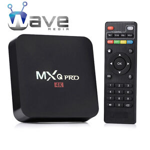 WAVE MEDIA® ANDROID TV BOX - MXQ PRO + WAVE UPDATER ★UNLIMITED