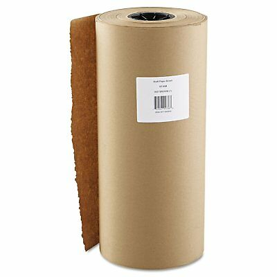 """18"""" 900"""" 40lb Wrapping Kraft Paper Roll Brown Free Shipping Cushioning Void Fill"""