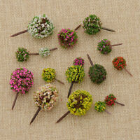 Ball-shaped Flower Trees Model Train Layout Garden Scenery Miniature Diorama 30 - unbranded - ebay.co.uk
