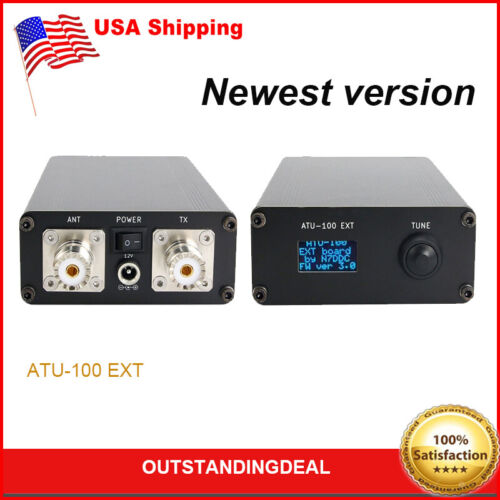 ATU-100 EXT 1.8-50M 100W Shortwave Automatic Antenna Tuner Ready to Use US^
