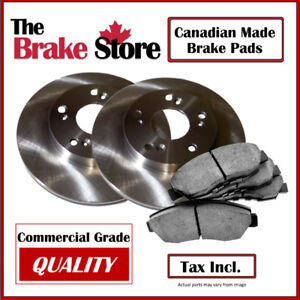 Toyota Camry 2007 – 2017 Front Brake Pads and Rotors Kit