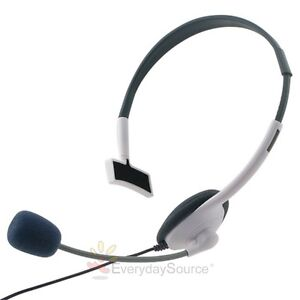 NEW LIVE HEADSET WITH MICROPHONE W/MIC FOR XBOX 360 WIRELESS CONTROLLER