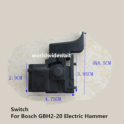 1pc Switch For Bosch Gbh2-20 24 Electric Hammer Accessories