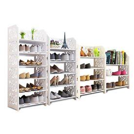Plant Book Shelving Storage Solution Unit Shelves Organizer Shoes Rack D460B