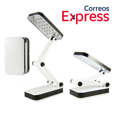 Lampara Led para Mesa Escritorio 24Led Luz de Noche Plegable Lectura USB...