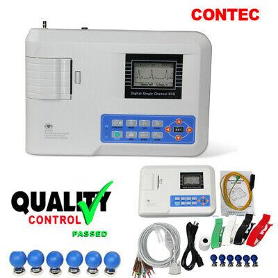 Digital Single Channel 12-lead Ecgekg Machine Electrocardiograph Fda Ce Ecg100g