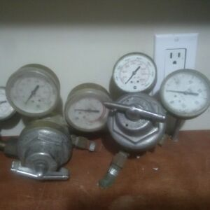 uniweld purox usg Welding regulator gauges acetylene oxygen gas