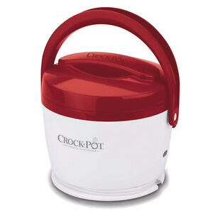 **Brand New**Crock-Pot Lunch Crock Food Warmer (Red/Pink/Blue)