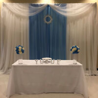 wedding backdrops and  king queen chairs at an affordable price