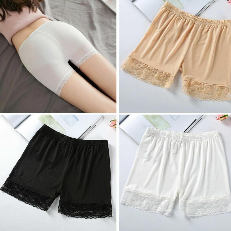 3Stück Damen Panty Pants Sicherheitshosen unter Rock Shorts für Kleid Lady NEU T