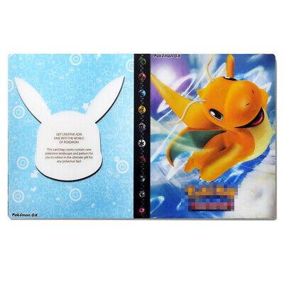 Ultra Pokemon Trading Card Folder 240 Pockets Portfolio Binder Album Dragonite