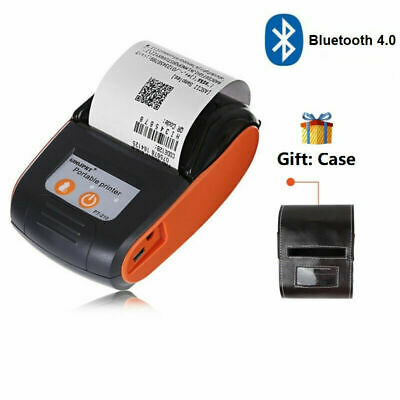 Portable Bluetooth Thermal Label Printer 58mm Wireless Pos Receipt Handheld