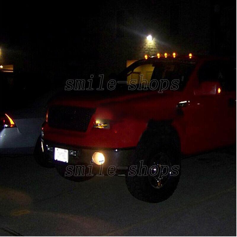 RECON LED ROOF CAB LIGHT KIT 2003-2013 DODGE RAM SMOKED