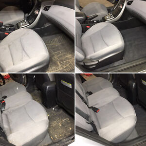 Full interior detail auto cleaning