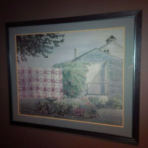 Limited Edition Signed Amish Quilt Print.