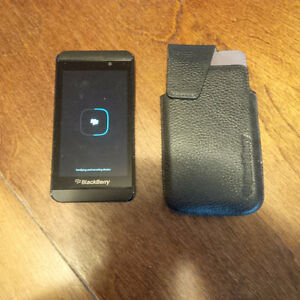 Blackberry Z10 with case AND Blackberry Q10 for sale