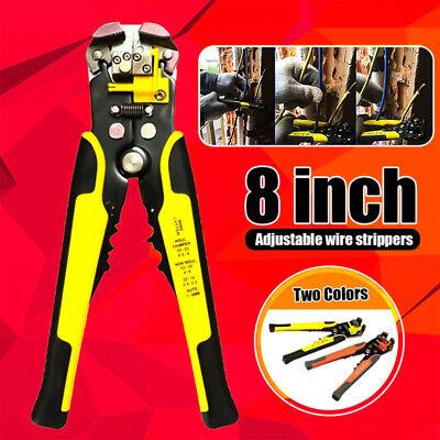 Heavy Duty Automatic Cable Wire Striper Cutter Stripper Crimper Plier Tool