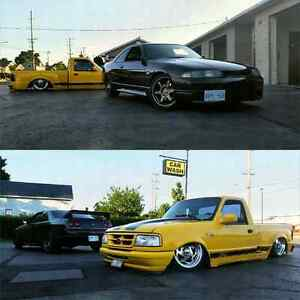 1996 Bagged and Bodied Ford Ranger