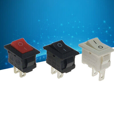 Mini 10pcslot 1015mm 2pin Onoff Boat Rocker Switch Car Truck Button Swi Se