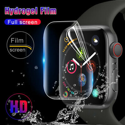 9D Hydrogel Film Screen Protector For iWatch 38-44mm Apple Watch 5 4 3 2 Cover