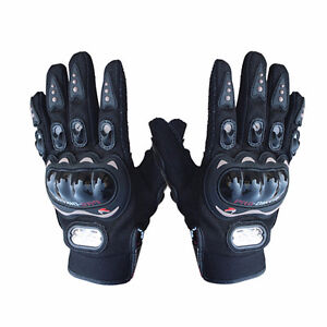 Motorcycle Racing Gloves Size Large