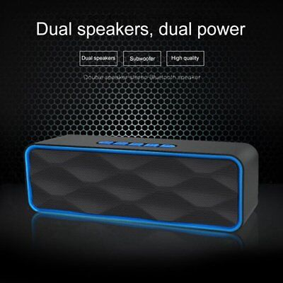 Dual Speakers Wireless Bluetooth Speaker Best Outdoor Loud Portable