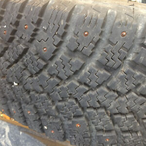 16 inch winter studded tires