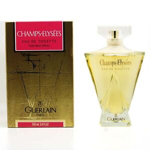 champs elysees by guerlain 3 4 fl oz 100 ml eau de toilette spray for women ebay. Black Bedroom Furniture Sets. Home Design Ideas