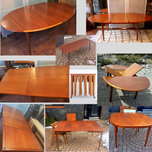 Danish Teak MCM Tables REFINISHED from $499